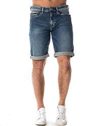 Slim Shorts Isolation Blue